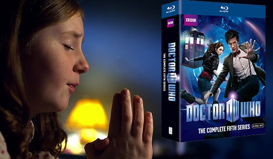 BBC Video's Doctor Who: The Complete Fifth Series is on Blu-ray.