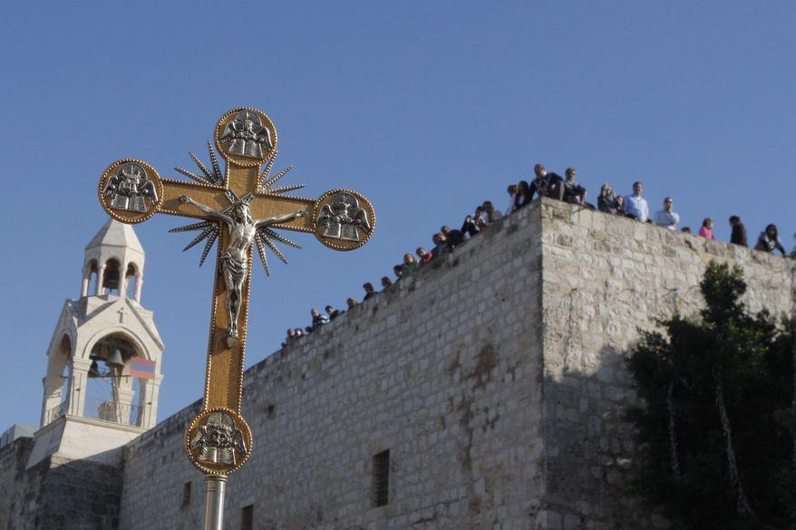 The Church of Nativity in Bethlehem (AP Photo)