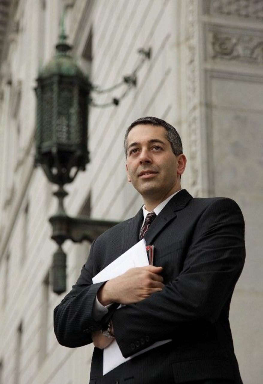ASSOCIATED PRESS Lawyer Daniel Balsam of San Francisco hates spam so much that he launched a website, Danhatesspam.com.