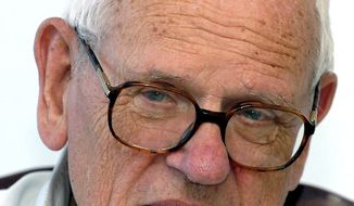 ** FILE ** The Rev. Francois Houtart, a Belgian priest and Third World activist, admitted in a newspaper interview to having sexually abused a minor 40 years ago. (AP Photo/Roosewelt Pinheiro, Agencia Brasil, HO)