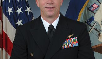 Navy Capt. Owen P. Honors (AP Photo/U.S. Navy)