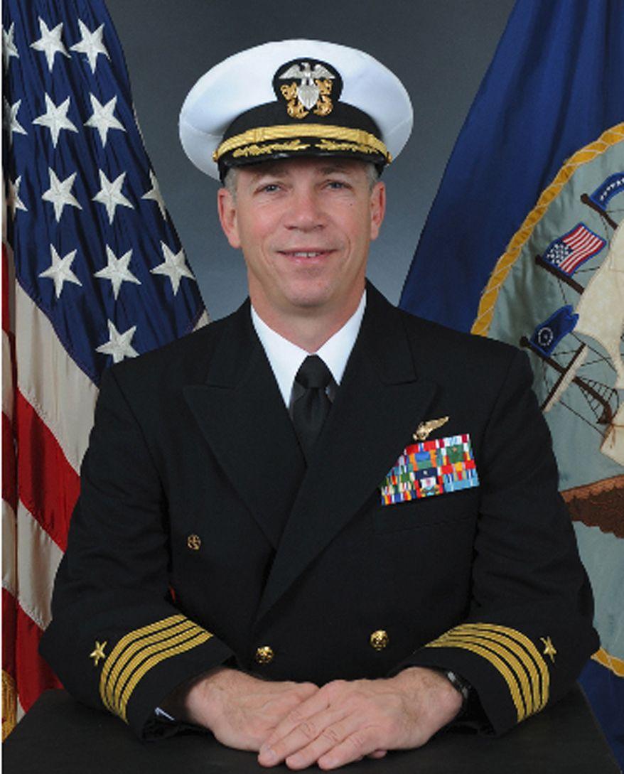 Navy Capt. Owen P. Honors (AP Photo/U.S. Navy)