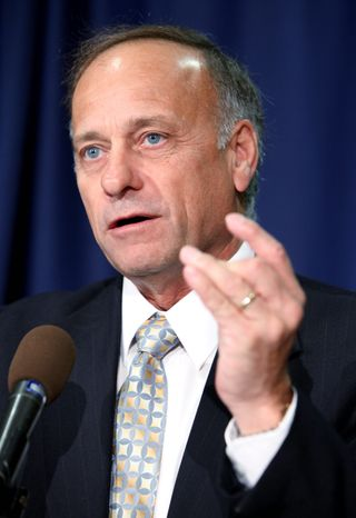"""""""It's not going to be easy; it's going to be a long, hard slog,"""" said Rep. Steve King, an early leader in the repeal drive. (Associated Press)"""