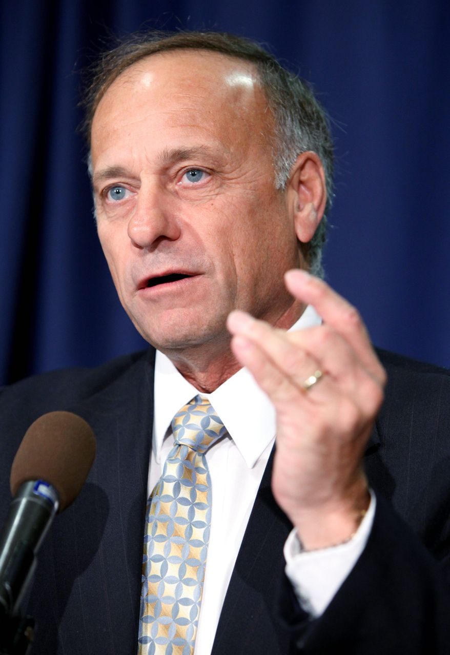 Rep. Steve King. (Associated Press)