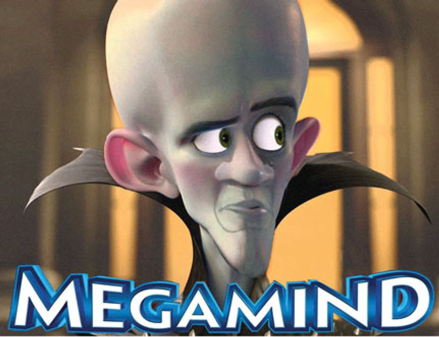 Illustration: Megamind by Alexander Hunter for The Washington Times