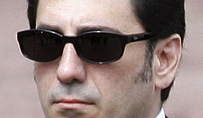 Alireza Pahlavi is seen during Prince Rainier III's funeral procession, in Monaco, on April 15, 2005. Mr. Pahlavi, son of the late shah of Iran, was found dead of an apparent suicide at his home in Boston on Tuesday, Jan. 4, 2011. (Pool, File)