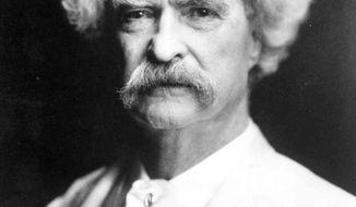 Mark Twain (AP Photo/The Mark Twain House & Museum, file)