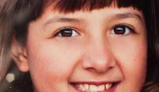 Christina Green, 9, who was killed in the attack on Rep. Gabrielle Giffords, was born on Sept. 11, 2001, which inspired her patriotism, her mother said. (Photograph provided by the Green family via Associated Press)