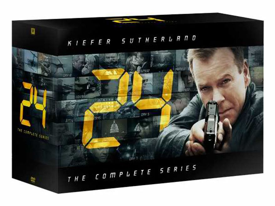 24: The Complete Series from 20th Century Fox Home Entertainment is on DVD.