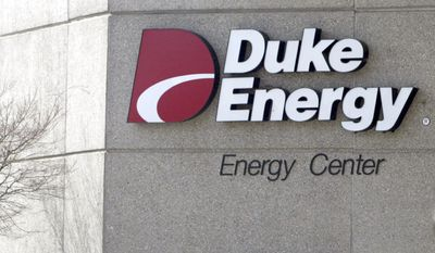 Duke Energy Corporate Headquarters in a Charlotte, N.C. Duke Energy Corp. announced Monday, Jan. 10, 2011, that it is buying Progress Energy Inc. for more than $13 billion in stock in a deal that would create one of the nation's largest utilities.(AP Photo/Nell Redmond, File)
