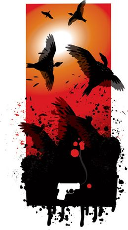 Illustration: Vultures by Linas Garsys for The Washington Times