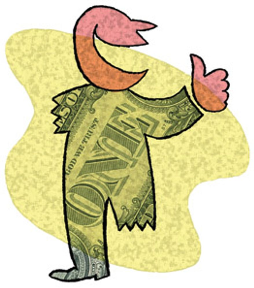Illustration: Taxes by Alexander Hunter for The Washington Times
