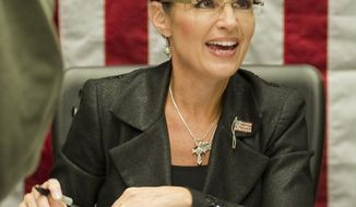 **FILE** Sarah Palin (Associated Press)