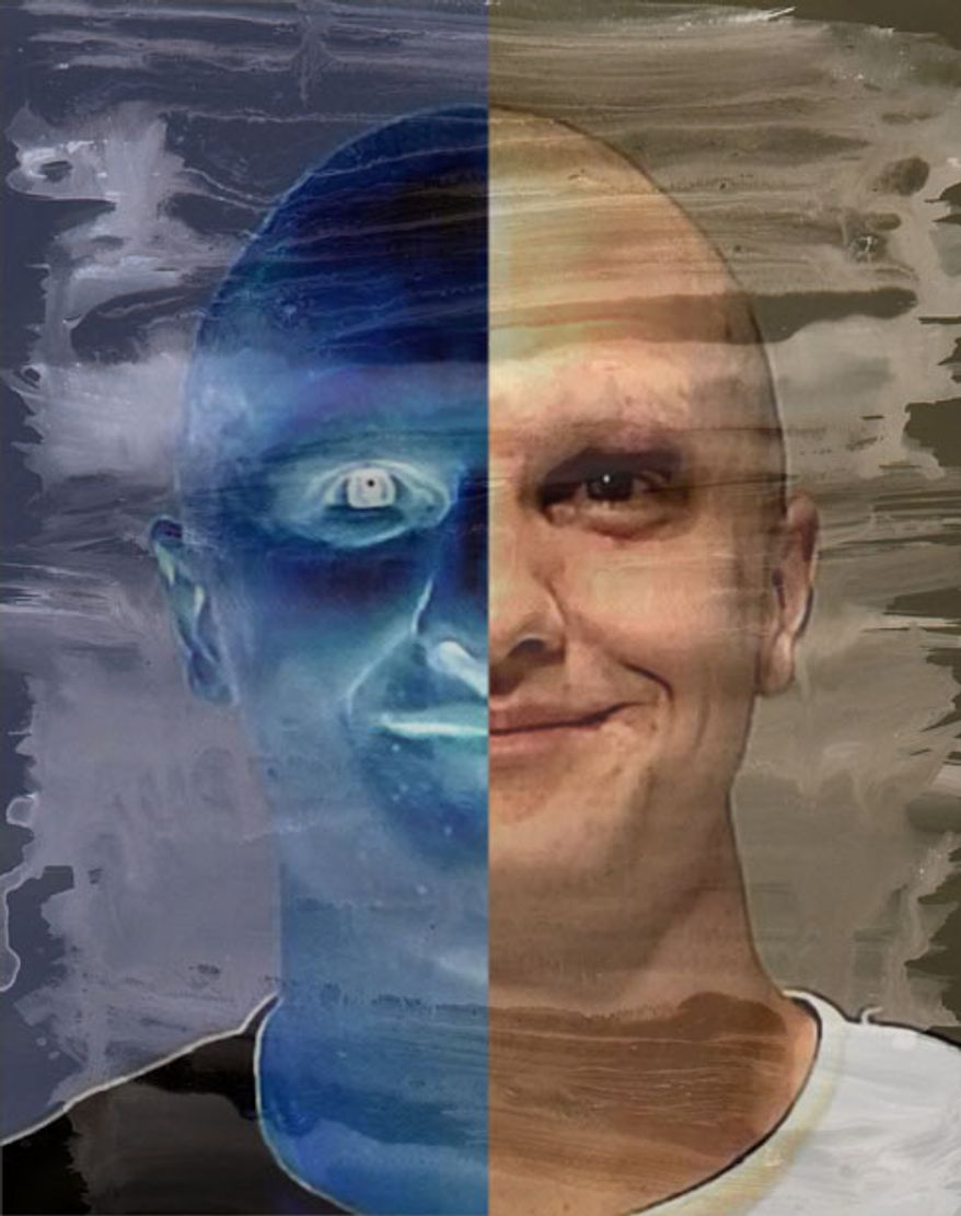 Illustration: Jared Lee Loughner by Greg Groesch for The Washington Times