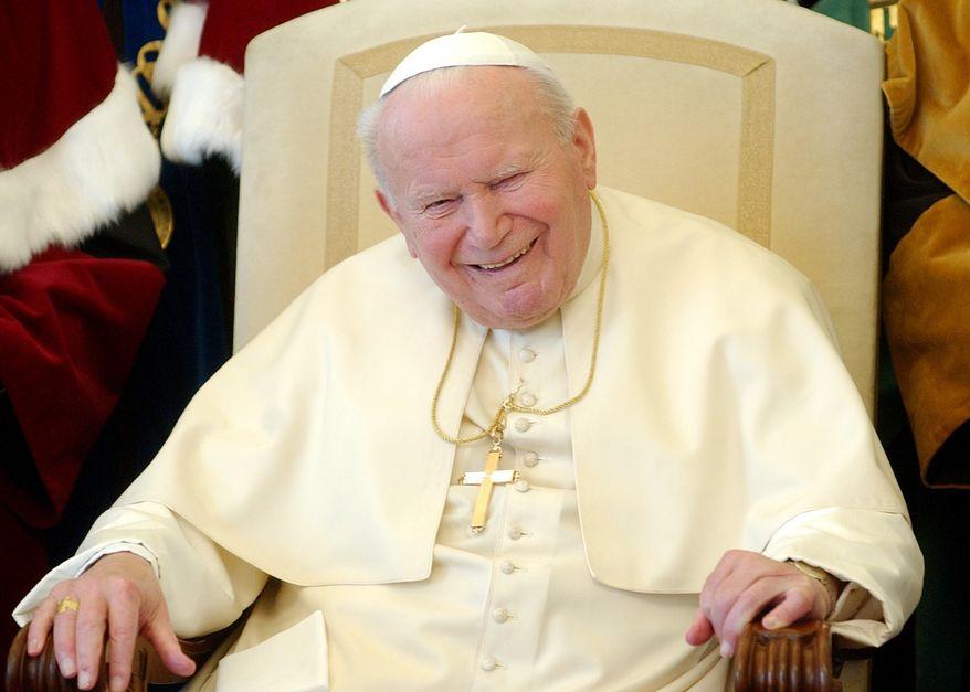 **FILE** Pope John Paul II (Associated Press)
