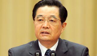 **FILE** Chinese President Hu Jintao (Associated Press)