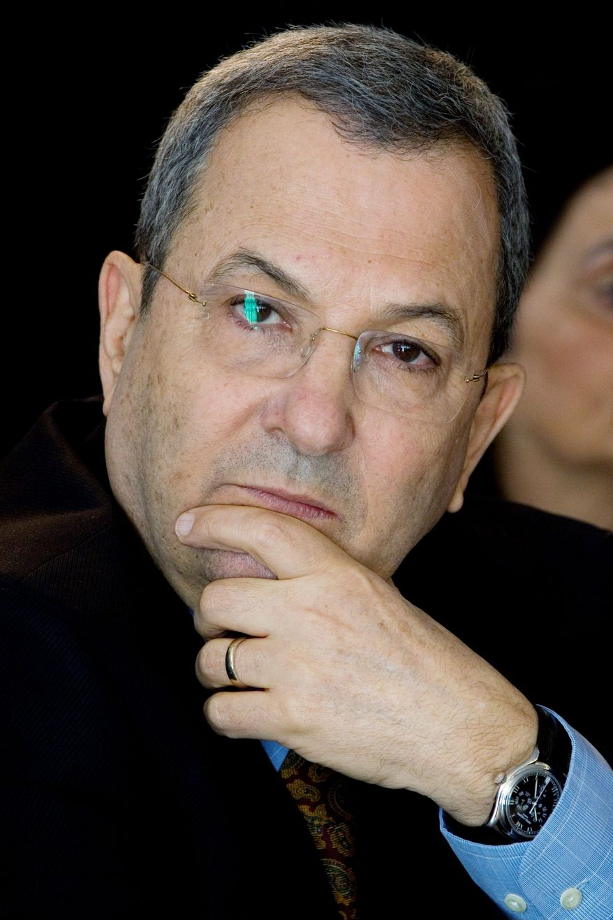 Israeli Defense Minister Ehud Barak plans to form a new parliamentary faction inside the governing coalition. (Associated Press)