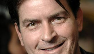 ** FILE ** This Jan. 28, 2009, file photo shows Charlie Sheen in Los Angeles. (AP Photo/Chris Pizzello, File)
