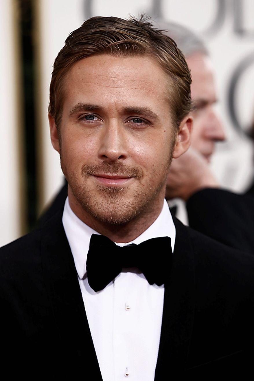 Ryan Gosling arrives for the Golden Globe Awards Sunday, Jan. 16, 2011, in Beverly Hills, Calif. (AP Photo/Matt Sayles)