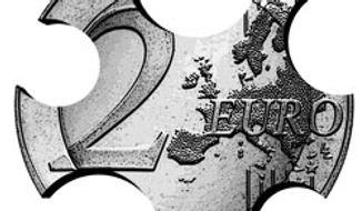 Illustration: Crumbling Euro