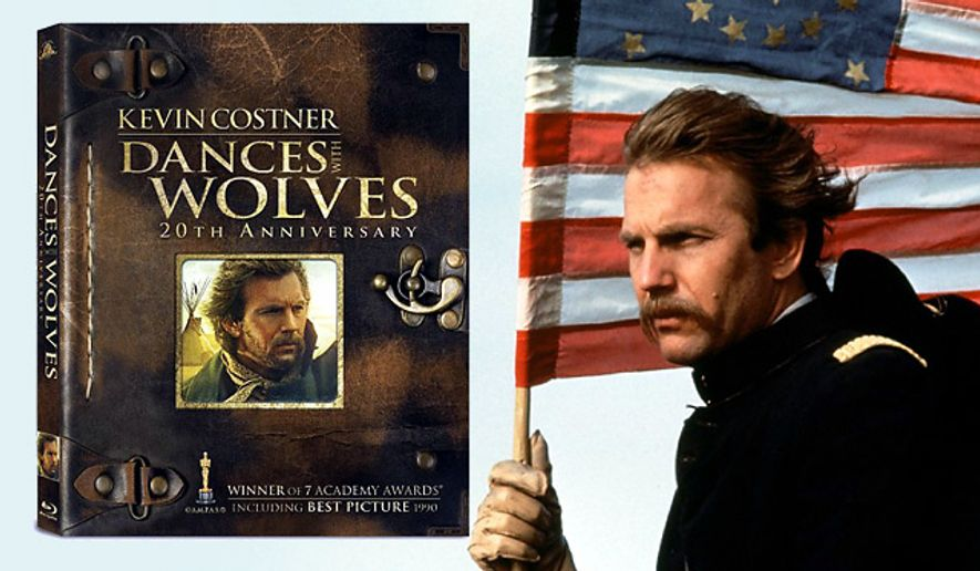 Kevin Costner stars in Dances With Wolves: 20th Anniversary from MGM Home Entertainment, now on Blu-ray