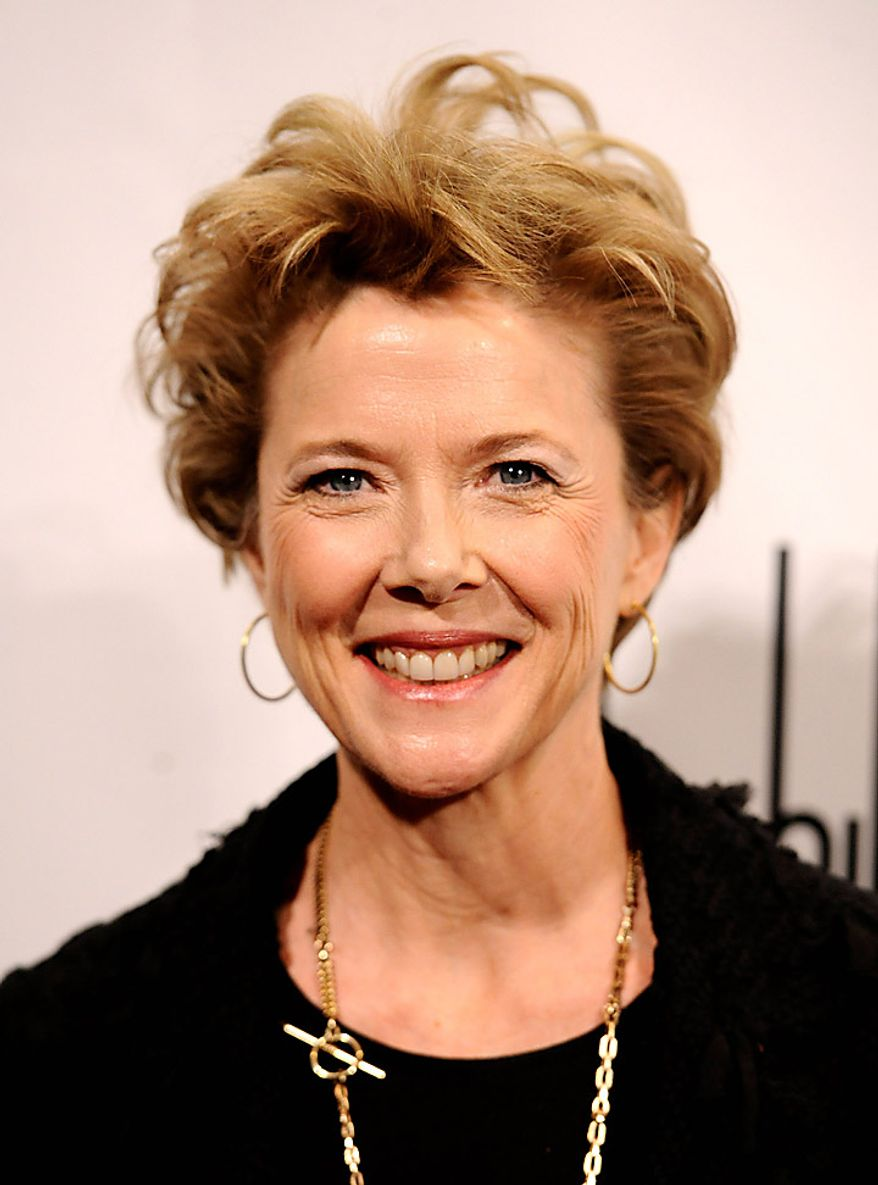 "In this Nov. 29, 2010, file photo, Annette Bening attends the 20th anniversary of the Gotham Independent Film awards in New York. Ms. Bening was nominated for an Academy Award for best actress for her role in ""The Kids Are All Right""  Tuesday, Jan. 25, 2011. The Oscars will be presented Feb. 27 at the Kodak Theatre in Hollywood. (AP Photo/Peter Kramer, file)"