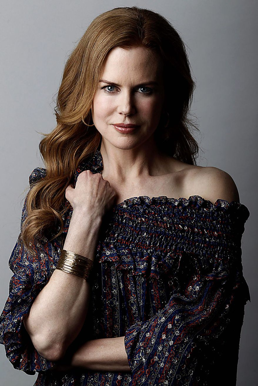 """Actress Nicole Kidman was nominated for an Academy Award for best actress for her role in """"Rabbit Hole,""""  Tuesday, Jan. 25, 2011. The Oscars will be presented Feb. 27 at the Kodak Theatre in Hollywood.   (AP Photo/Matt Sayles)"""