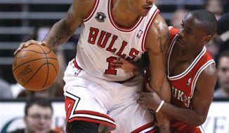 Chicago Bulls guard Derrick Rose was drafted No. 1 overall in 2008, after playing one year at Memphis. (AP Photo/Charles Rex Arbogast)