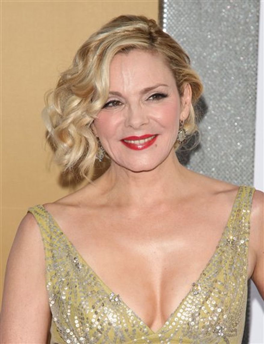 """FILE - In this May 24, 2010 file photo, Kim Cattrall attends the premiere of """"Sex And The City 2"""" at Radio City Music Hall in New York. (AP Photo/Peter Kramer, file)"""