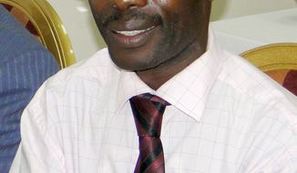 "David Kato, an advocacy officer for the gay rights group Sexual Minorities Uganda, was found with serious wounds to his head at his home in Uganda's capital Kampala, late Wednesday Jan 26, 2011, and later died of his injuries. A Ugandan tabloid newspaper called Rolling Stone listed a number of men they said were homosexuals last year, including Kato. Kato's picture was published on the front page, along with his name and a headline that said ""Hang Them."" (AP Photo)"