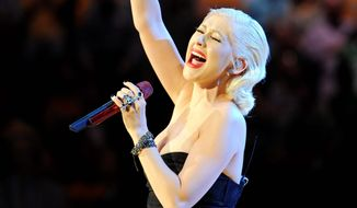 """Musical mishaps and wardrobe malfunctions are unlikely when Christina Aguilera sings """"The """"Star-Spangled Banner"""" at Super Bowl XLV."""