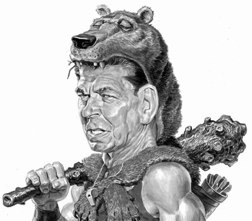 Illustration: Ronald Reagan