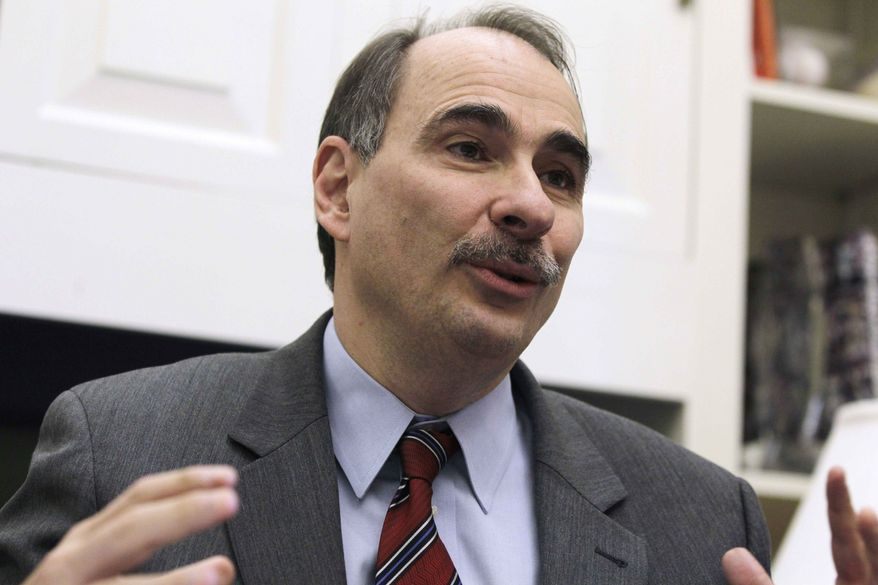 David Axelrod (Associated Press) **FILE**