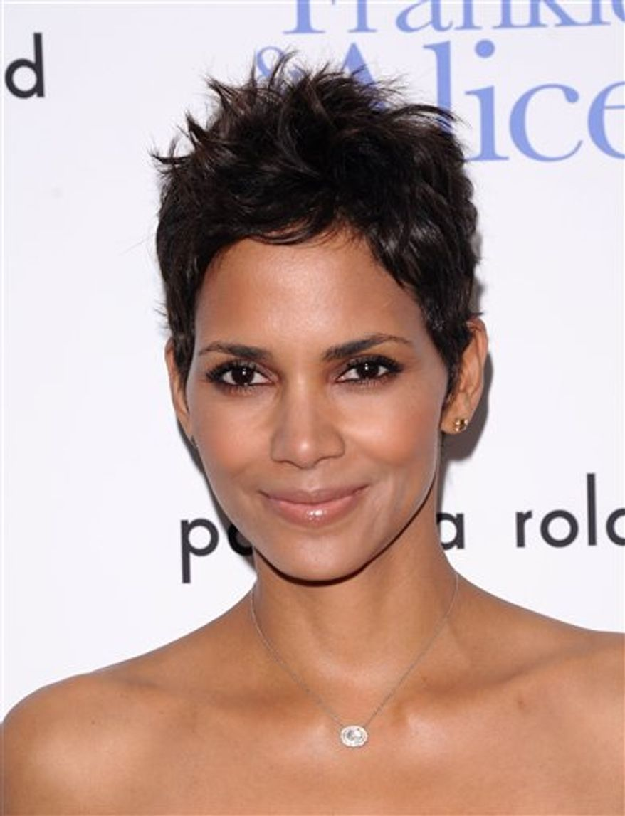 "FILE - In this Nov. 17, 2010 file photo, actress Halle Berry attends a special screening of ""Frankie & Alice"" in New York. Berry was nominated for  (AP Photo/Peter Kramer, file)"