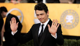 James Franco arrives at the 17th Annual Screen Actors Guild Awards on Sunday, Jan. 30, 2011, in Los Angeles. (AP Photo/Chris Pizzello)