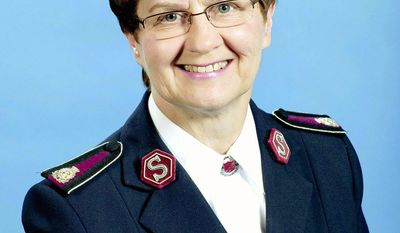 Salvation Army Commissioner Linda Bond, who has been with the organization since 1969, became the first woman elected to the top post since 1986. (Salvation Army)
