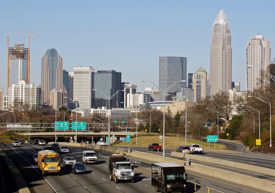 Charlotte, North Carolina. (Associated Press)