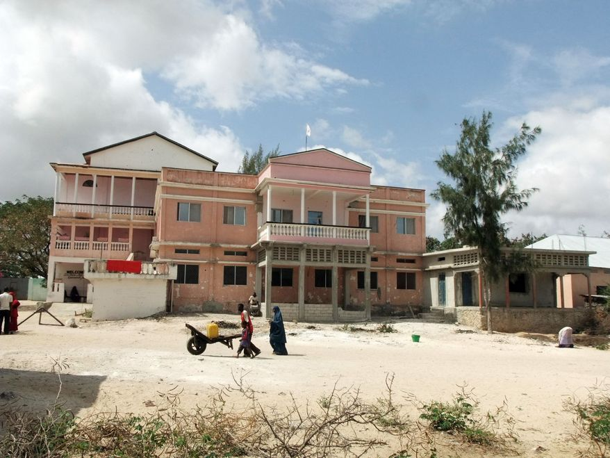 The Hawa Abdi hospital in Afgoye, Somalia, is along the main road to Mogadishu, a corridor that forms one of the world's largest concentrations of displaced people. (Associated Press)