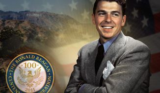 "President Reagan sensed winter in Washington as a sign that ""spring is coming"" with things ""beginning again."" (Ronald Reagan Presidential Library and Foundation)"