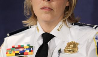 D.C. Police Chief Cathy L. Lanier (Associated Press)