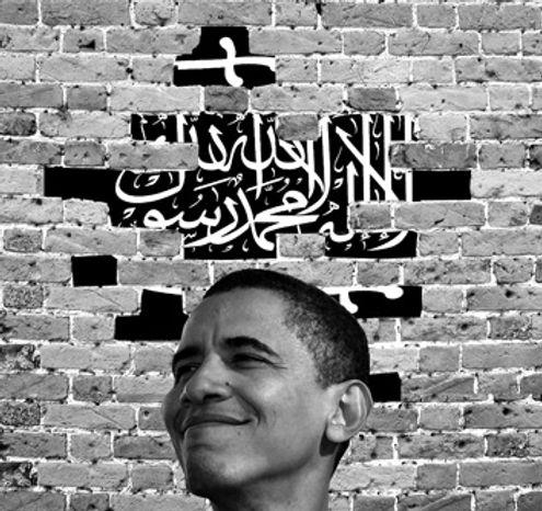 Illustration: Obama and Islam