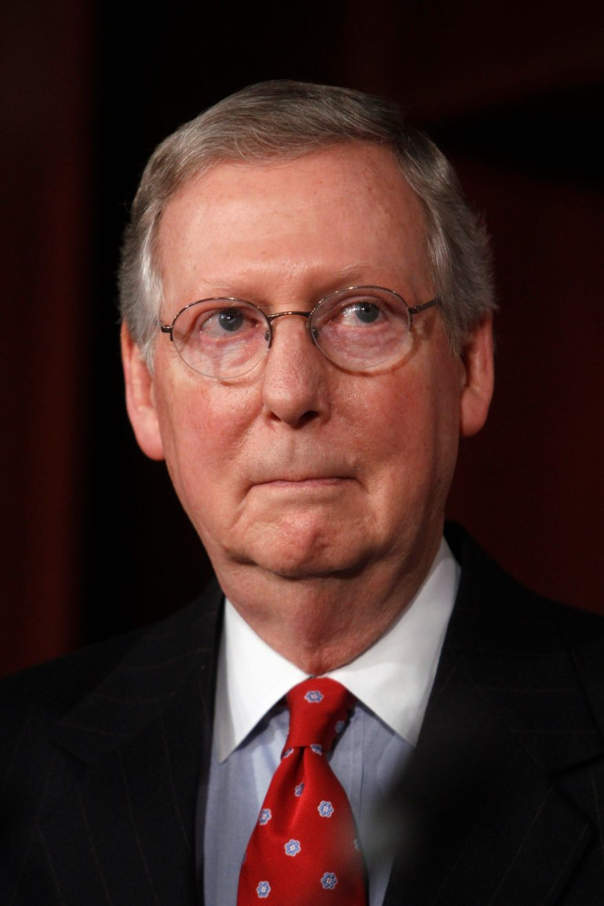 Senate Minority Leader Mitch McConnell of Kentucky vows that Republicans will keep revisiting the health care law in a variety of ways in an effort to modify it or repeal it.
