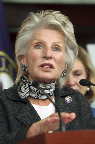 ** FILE ** Former Rep. Jane Harman, California Democrat, resigned to become president of the Woodrow Wilson International Center for Scholars. (Associated Press)