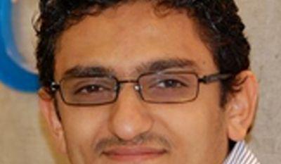 Wael Ghoneim, a Google Inc. marketing manager in Cairo, is shown in an undated photo. (AP Photo/Google Inc.)
