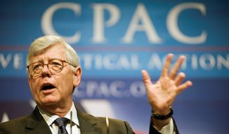 American Conservative Union Chairman David Keene says CPAC is the place to meet new conservative people and parse out the politics. (Associated Press)