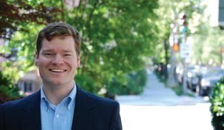 Patrick Mara is the lone Republican running for a D.C. Council seat against a slew of Democratic candidates. (DCGOP)