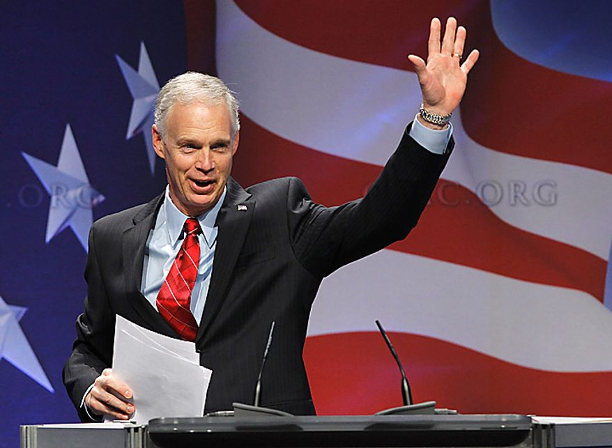 Sen. Ron Johnson, Wisconsin Republican (AP Photo/Alex Brandon)