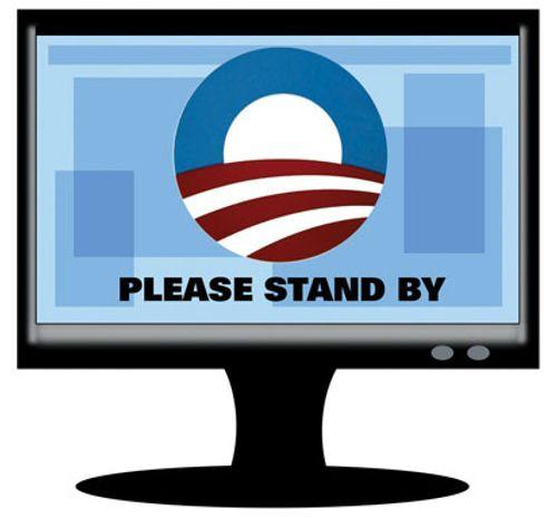 Illustration: Obama's FCC by Alexander Hunter for The Washington Times