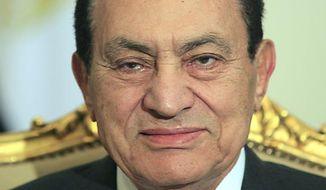 ** FILE ** Hosni Mubarak (AP Photo/Amr Nabil, File)