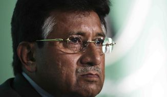 **FILE** Pervez Musharraf, the former president of Pakistan (Associated Press)